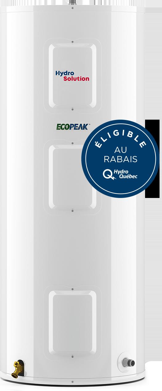 Chauffe-eau à technologie ecopeak